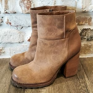 Sam Edelman Ankle Boots with Chunky Heel